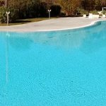 Panoramic View of One of the Pools