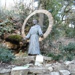 Statua S.Francesco posta all'ingresso
