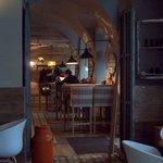 bar/restaurant van het hotel