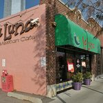 La Luna occupies a storefront building in the shadow of Oklahoma's tallest building, the Devon T