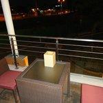 agradable el balcon