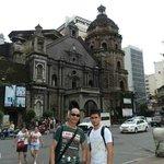 The famous landmark, the Binondo Church (Minor Basilica of St. Lorenzo Ruiz)
