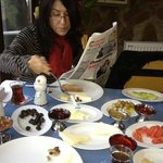 Very good breakfast...