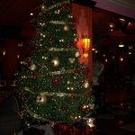 Xmas Tree in Lobby Vallarta