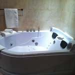The best bath I have ever had (Penhow Suite)