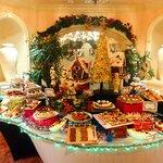 New Year's eve dessert buffet