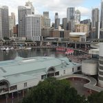 View from room to Darling Harbour