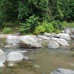 River with Huge Boulders