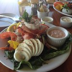 Seafood Salad a feast for the eye and palate