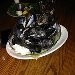 small order of steam mussels