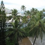 View from room in the older section of Mount Lavinia