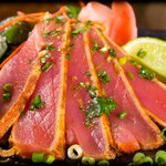 Spice Crusted Sashimi Tuna