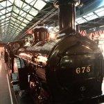 下火车走5分钟就到了,国家火车博物馆,很近。里面虽然不能与中国的博物馆相比,但却值得游览。