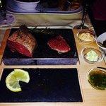 Fleischgericht..200g Argentinisches Steak...sehr gut!!