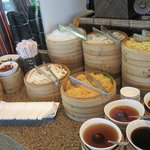 dim sum station at lunch