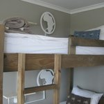 room for 4 people - bunk bed
