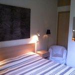 La nostra camera, piccolina ma confortevole