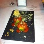 calabacin con salsa boloñesa y soja