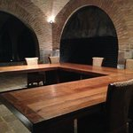 Tasting table for importers or large groups