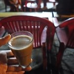 The chai that kept me warm in the middle of the night at the bus stop :)
