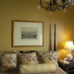 Authentic historic rooms