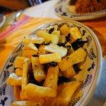 Yuca frita $55--delicious