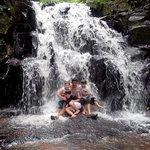 passeio a cascata