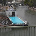 A pool on the Danube