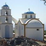 Igreja perto da recepção do Hotel