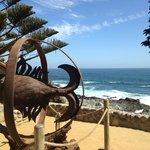Vista del Mar desde la casa de Neruda