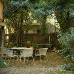 Nice courtyard
