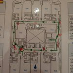 Plano de la planta del hotel