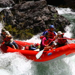 Rafting on the Trinity River