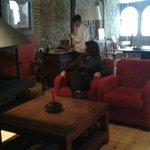 Celebrando el cumpleaños de Laura en un hotel con encanto la Freixera.