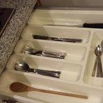 Kitchen -- the silverware drawer