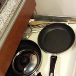 Kitchen -- frying pans