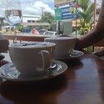 Cafe' con leche