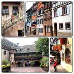 Colmar the city streets