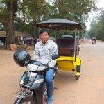 Mr Davuth - Cambodia's best tuk tuk driver