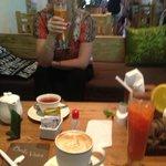 Lemon grass tea.... amazing and wonderful juices
