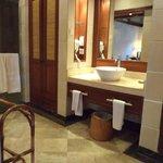 Bathroom/shower area in room 2034