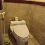 toilet room in room 2034