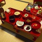 Japanese veggie dinner