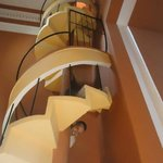 Quite a staircase!