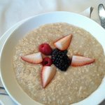 oatmeal at the grant grill