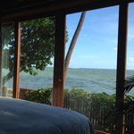 Stunning ocean views from the day spa