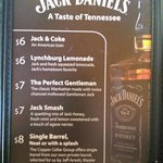 Whiskey Mixed Drink Specials