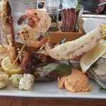 Awesome seafood platter