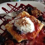 Berry pancake....yum!