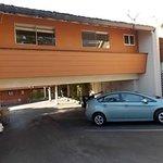 Breezeway suites 311,312 over parking lot